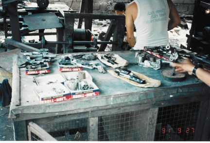 Gun fabrication in Danao